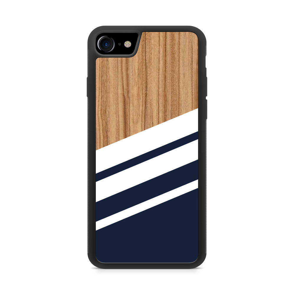 Coque iPhone 7 Bois et Rayures