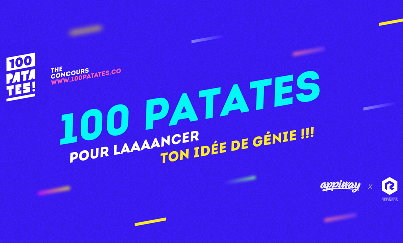 100 patates concours