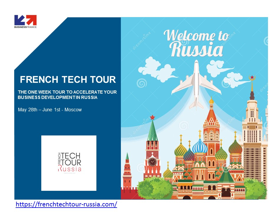 FRENCH TECH TOUR RUSSIA