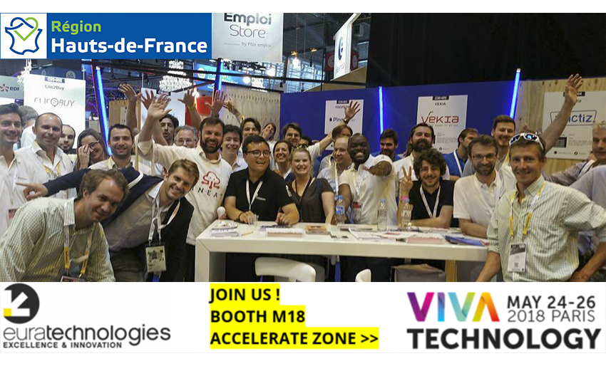 VivaTech equipe euratechnologies