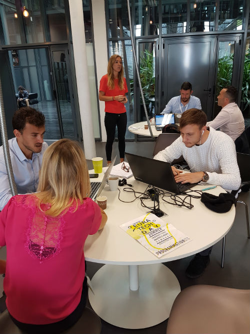 startuppers au travail