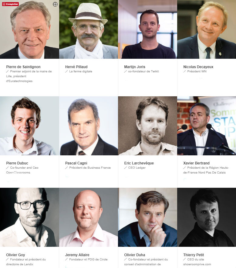 speakers sommet startup challenges lille euratechnologies 2018