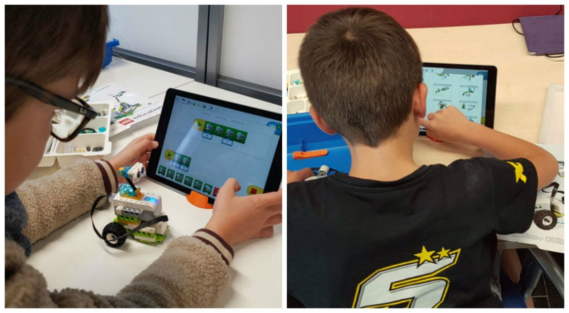 atelier enfant lego education euratechkids