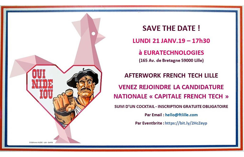 capitale french tech afterwork euratechnologies