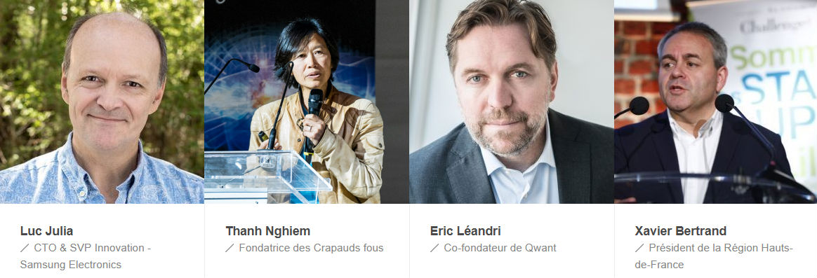 speakers sommet startup challenges lille 2019