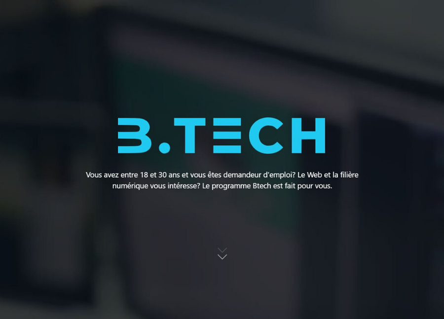 b tech euratechnologies formation web