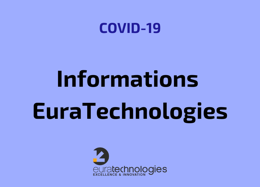 COVID-19 informations euratechnologies