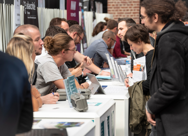 aide recrutement salon euratechnologies startup