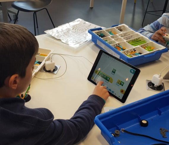 atelier robotique educative enfant euratech kids euratechnologies