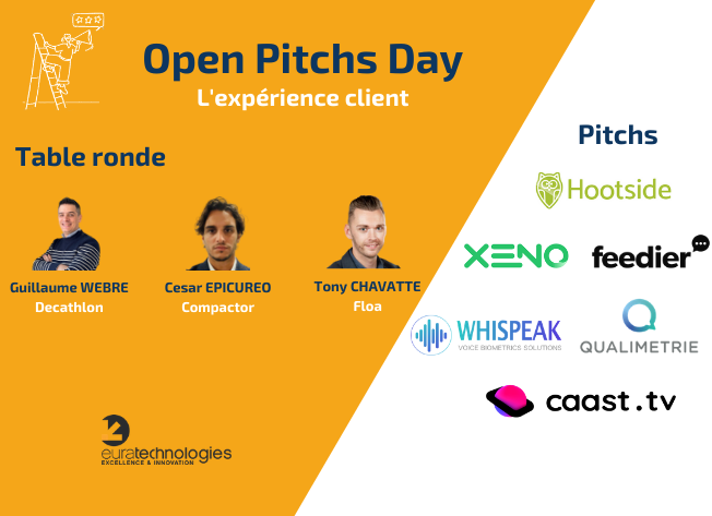agenda open pitchs day experience client